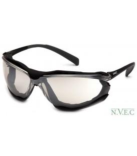 Очки Proximity SB 9380ST с зеркально-серыми ударопрочными поликарбонатными линзами, с защитой от царапин