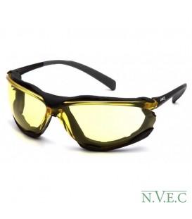 Очки Proximity SB 9330ST с желтыми ударопрочными поликарбонатными линзами, с защитой от царапин