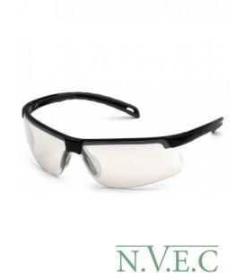 Очки Ever-Lite SB 8680D с зеркально-серыми ударопрочными поликарбонатными линзами, с защитой от царапин