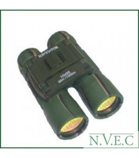 Бинокль Navigator 10х25 зеленый (обрезиненный, компактный)