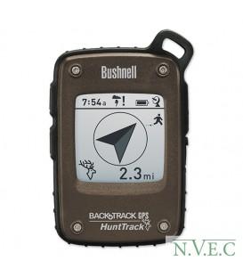 Карманный цифровой компас Hunttrack с GPS приемником,BROWN  (запониминает до 25 точек) 360500