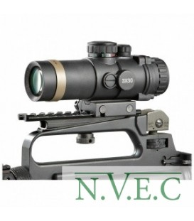 Оптический прицел Sightmark Firefield 3х30 Combat (сетка Duplex, 2-х цветная, крепление weaver,водонепроницаемый) FF13023