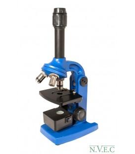 Микроскоп Юннат 2П-3 с подсветкой Синий