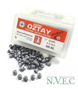 Пульки Super OZTAY diabolo кал. 4,5 мм (500 шт./бан.)