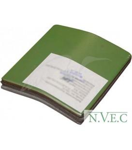 Бронепластина RSS Стальная 150х150 мм Класс защиты-4 (7,62х39,5,45х39 со стальным термоу ц:зеленый