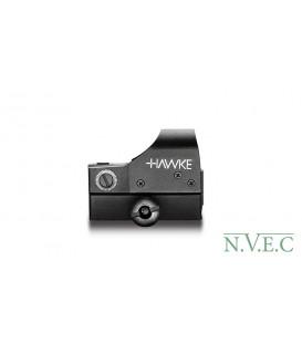 Коллиматорный прицел Hawke Reflex Red Dot Sight – Digital Control – Large (5MOA) (5-ти ступенчатая яркость, широкоугольный, Weav