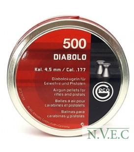 Пульки Geco DIABOLO 4,5 мм (500 шт./бан.)