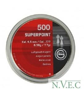 Пульки Geco SUPERPOINT (500 шт./бан.)