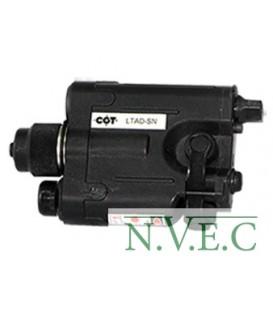 Лазерный целеуказатель СОТ LTAD-SN (850 нм, инфракрасный спектр,  weaver,  выносная  кнопка включения).