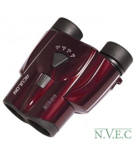 Бинокль Nikon Aculon T11 8-24x25 Zoom красный