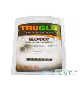 Мушка Truglo TG90D GLO-DOT двуцветная - зеленая/красная универсальная