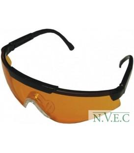 Очки стрелковые Sporty оранжевые