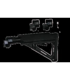Переходник со смещением «Шарнир АК-2» для телеских прикладов М-Серии на оружие тип САЙГА-МК, АК-100, АКС-7