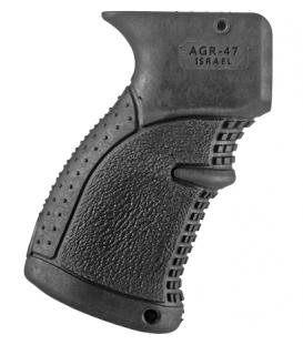 Эргономичная прорезиненная пистолетная рукоятка АК47/74 (AGR-47)