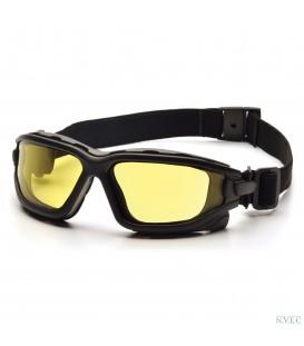 Очки для стрельбы Venture I-Force (7030SDT) с прозрачными двойными ударопрочными поликарбонатными линзами,светопропускание 98%,