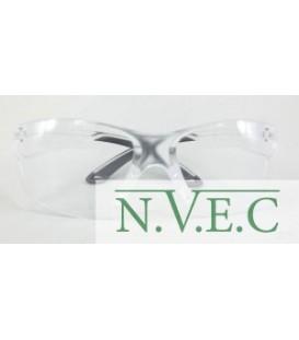"""Очки стрелковые """"Stalker"""" защитные, цвет- прозрачные, материал - поликарбонат, светопропускаемость 98%, блистер"""